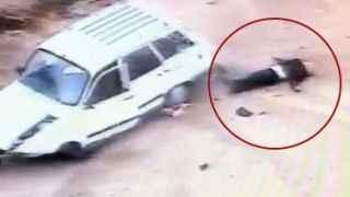 Otomobili vurdururken şantiyeye uçmuştu, hastanede öldü