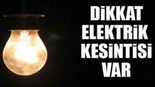 Kocaeli'de 8 saate varan elektrik kesintisi